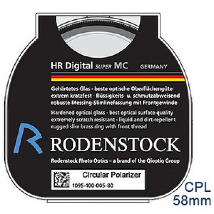 Digital HR Circular Pol 58mm