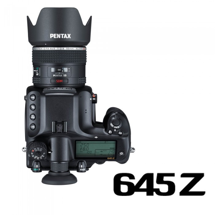 645Z+DFA645 55mm單鏡組